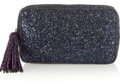 Whether it's an everyday tote, an evening clutch or a day-to-night shoulder bag, you can never have too many handbags.. The silver glitter finished clutch from Anya Hindmarch is the perfect accessory for party season this year. #christmas #present #bag #handbag #clutch #gift    Source: The OUTNET.COM/ShopStyle