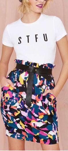 different strokes skirt