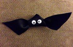 Bat Hairbow on Etsy, $4.00