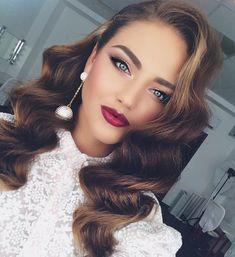 Приехала моя самая любимая девочка @kristabelkrayt 💄 @vegas_nay @hudabeauty @makegirlzvid @makegirlz #instalike #hair #hairstyle #wedding…