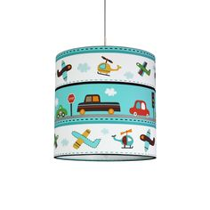 Modell Cars by Zappriani  Designer Handmade Children Pendant Lamp   Gorgeous Home Decor for your House