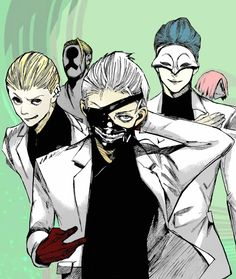 Goat(white suit) tokyo ghoul