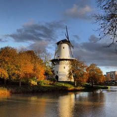 """De Herfst van 2013 in Middelburg,(Holland).Molen""""De Hoop"""" -:)"""