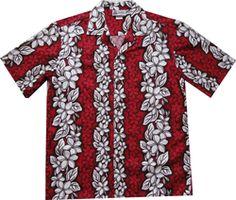 Panel Lei Men's Hawaiian Shirt