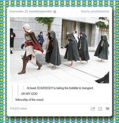 Assassin's Creed + Hobbits
