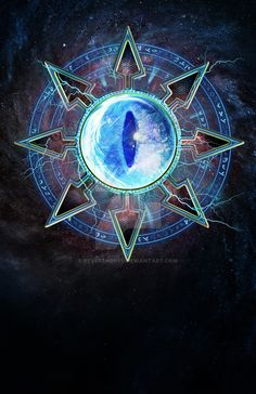 Tzeentch Chaos Emblem by ReverendRyu