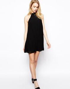Bild 4 von Fashion Union – Ausgestelltes Kleid mit Neckholder