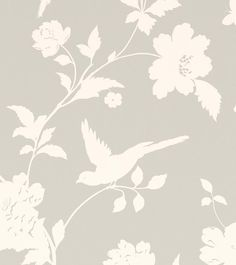 Farleigh Dove Grey from the Laura Ashley wallpaper collection.