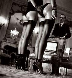Helmut Newton...the greatest fashion photographer ever!