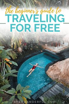 The Beginner's Guide to Traveling tjhe World for Free | Learn how to travel and get paid full-time with this free training from Wanderful! You'll get all the tips on how to earn money while traveling, no matter where you're going. Travel Jobs, Travel Advice, Travel Usa, Travel Guides, Travel Planner, Budget Travel, Free Training, Digital Nomad, Travel Abroad