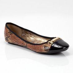 Yappy Shoe - faux-snakeskin