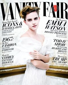 New cover of Emma Watson for Vanity Fair by Tim Walker