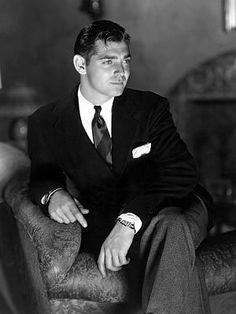 Clark Gable-was there anyone more handsome? Sigh