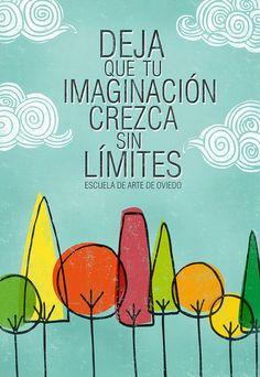 cartel Escuela de Arte by Natalia de Frutos Ramos, via Flickr