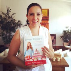 Just got my book! I am so happy! It´s maybe the first book in Mexico. You are a big inspiration for me and Cocoa Special Creations! Thanks Amy!! #SweetDesigns @SweetDesigns