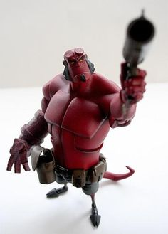 Hellboy Vinyl. I have this dude and he's one of my faves!!!!