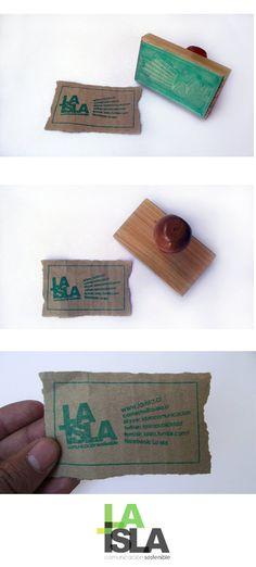 Si bien no es una empresa de reciclaje, el hecho de hacer tarjetas con material…