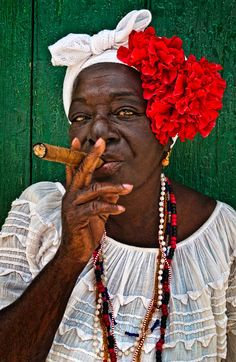 Cuba, Love A Good Cigar | ©2014 John Galbreath I don't know why but I feel like she would be so sassy...