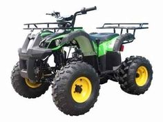 New 2016 Gsi 110cc TForce Utility ATV 4 Wheeler ATVs For Sale in Illinois. Call 866-606-3991 for more information!Features & Specifications:Engine Type:110CC,Air cooled, 4-stroke, 1-cylinder,automatic with reverseStart Type:Electric startTransmission:Chain DriveEngine Gear:F-N-RShift Gear:HandMax Torque:6.5N.m/5000-5500r/minWheelbase(inch):37Ignition:CDIFuel Capacity(L):3.5Front Hand Brake:DrumRear Foot Brake:Hydraulic DiscTire Front:19x7-8Tire Rear:18x9.5-8Suspension…