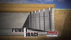 Shifting soil causes basement walls to crack. As the cracks increase in size the walls begin to bow and the basement becomes structurally unstable. The PowerBrace system reverses the damage without digging or landscape removal. #toddsmudjacking #powerbrace #silvis #basement #crackingwalls #bowedwalls