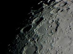 La Luna, fotografata con il mio telescopio