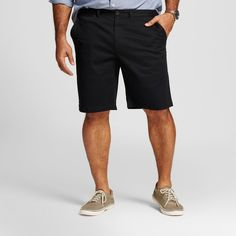 Men's Big & Tall Club Shorts Black 46 - Merona