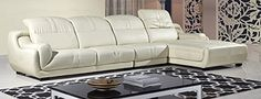 American Eagle Furniture 3 Piece Hamilton Series Living Room Sectional Sofa Couch with Right Chaise Cream ** Details can be found by clicking on the image.
