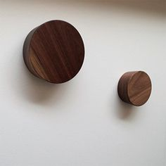 large custom knobs wood wooden one of a kind unique handmade artist-made hooks rustic modern style simple walnut oak door accessories storage Ramsin Khachi Oak Doors, Door Accessories, Modern Rustic, Decorative Items, Hooks, Simple, Handmade, Check, Home Decor