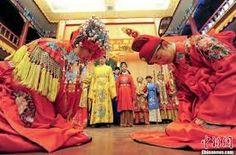 """Résultat de recherche d'images pour """"tenue traditionnelle chinoise mariage"""""""