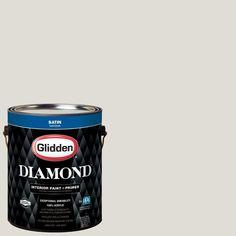 Glidden Diamond 1 gal. #HDGCN03 Silver Birch Satin Interior Paint with Primer