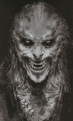 Concept Art Of Fenrir Greyback By Rob Bliss For Harry Potter And The Half Blood Prince
