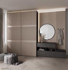 Wardrobe Interior Design, Wardrobe Door Designs, Wardrobe Design Bedroom, Hall Interior, Modern Bedroom Design, Home Room Design, Luxury Interior Design, House Design, Flur Design