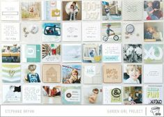 insta layout.  love it. Happy Saturday! 3 New Layouts! - Two Peas in a Bucket