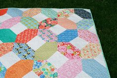 A Quilt for a Teacher by Fresh Lemons Quilts : Faith    Charm pack and Layer Cake
