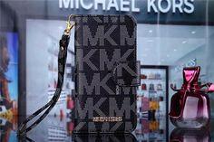 Michael Kors Leder Flip Hand Tasche Handyhülle mit Seil für iphone 5/5S, iphone 6/6Plus, Samsung S6/S6edge - elespiel.com