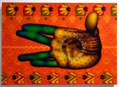 Ed Paschke Artist Painting Mary Boone Gallery New York