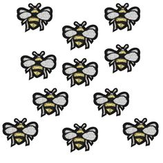 Cheap bee standard, Buy Quality bee memory directly from China bee beanie Suppliers:  Diy patches for clothing iron embroidered patch applique iron on patches sewing accessories badge stickers for cloth