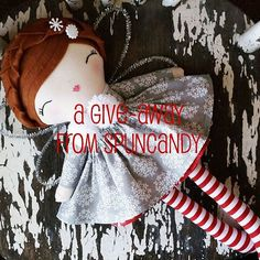 Christmas Doll Giveaway over on the SpunCandy Instagram Page!