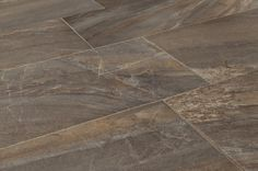 BuildDirect – Italian Porcelain Tile - Florence Series  – Silver - Angle View
