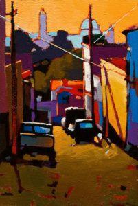 fine art since 1989 Landscape Drawings, Landscape Art, Cityscape Art, Art For Art Sake, Mexican Art, Canadian Artists, Teaching Art, Urban Art, Figurative Art