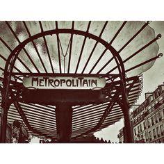 #Paris, metropolitain.