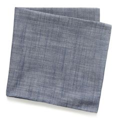 Great denim casual pocket square ;) (The Tie Bar)