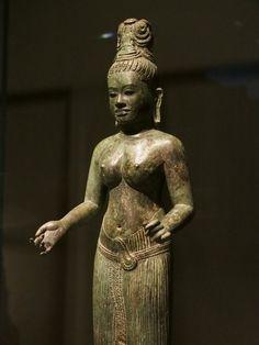 Ancient Aliens, Ancient Art, Black Buddha, Cambodian Art, Asian Sculptures, Boston Museums, Thailand Art, Chen, Buddhist Art
