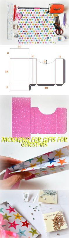 Packaging for gifts for Christmas