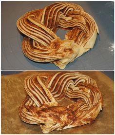 Estonský kringel Apple Pie, Bacon, Cheesecake, Food And Drink, Sweets, Breakfast, Breads, Morning Coffee, Bread Rolls