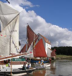 The Tide Mill at Woodbridge, Suffolk at the Maritime Festival