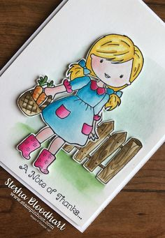 Garden Girl by Stampin' Up!
