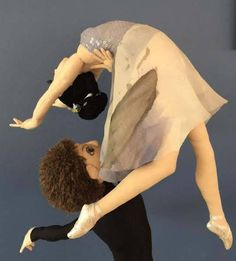 La Danse... Male and Female Art Dolls In Action PDF Cloth Doll Making Patterns from ClothDollPatterns on Etsy Studio