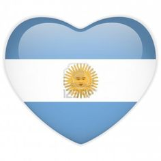 Illustration of Vector - Argentina Flag Heart Glossy Button vector art, clipart and stock vectors. Gaucho, Safest Places To Travel, Nestor Kirchner, Argentina Flag, Missionary Mom, Argentine, My Roots, Where The Heart Is, Vector Art