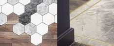 From geometric tiling patterns to inlaid brass and metal strips, discover the top 70 best tile to wood floor transition ideas. Best Flooring For Kitchen, Home Gym Flooring, Basement Flooring, Flooring Ideas, Basement Gym, Basement Storage, Plank Flooring, Tile To Wood Transition, Transition Flooring
